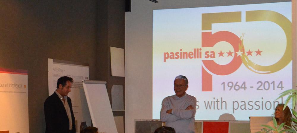 Presentazione Pasinelli SA nell'ambito dei festeggiamenti nell'ambito del 50.MO di attività 1