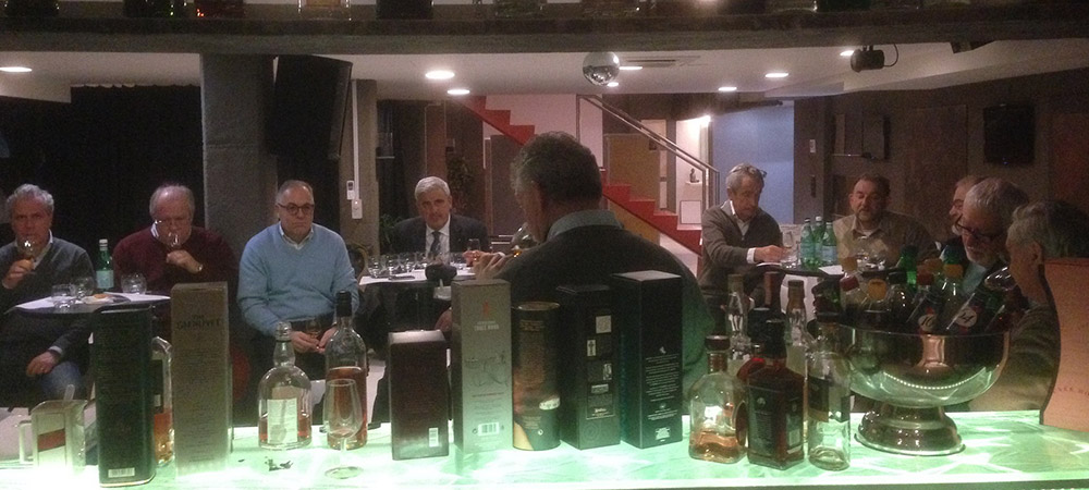 Serata degustazione whisky organizzata da Lionsclub 1